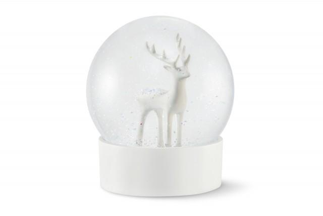 WONDERLAND snow globe