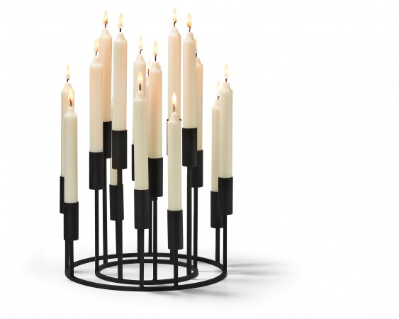 ILLUMINATI candelabra set 2 pcs