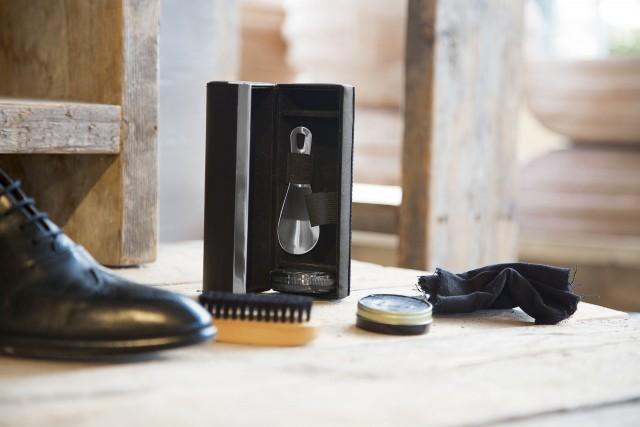 GIORGIO shoe shine kit, round