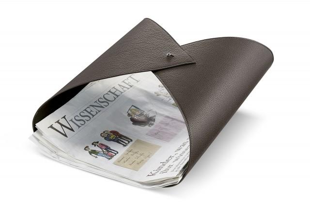 AMPLESSO Zeitungshalter