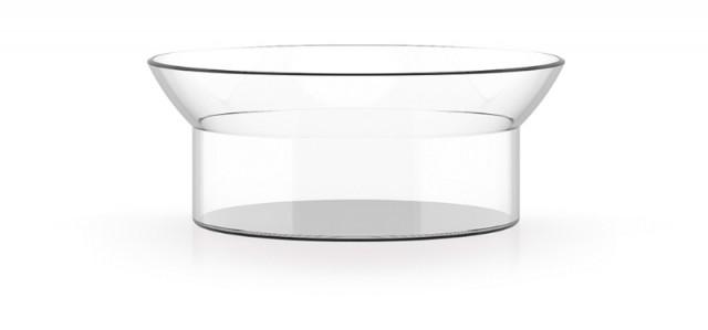 WILHELM Abtropfschale, Glasschale aus Borosilikatglas im Bauhaus Design