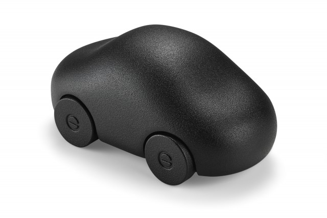 MY CAR BLACK paperweight