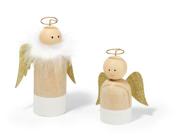 LEON wooden angel