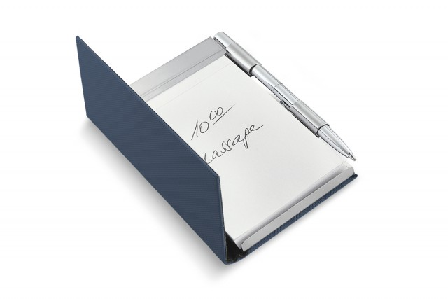 TODD notebook with pen