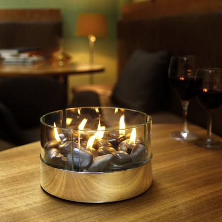 BURN table fireplace