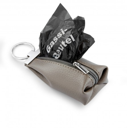 DION keyring with dogwalk pouch